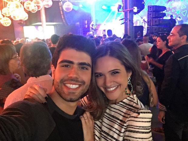 Juliano Laham e Juliana Paiva em festa no Rio (Foto: Instagram/ Reprodução)