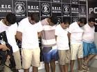 Presos oito suspeitos por sequestros de gerentes de bancos em Goiás