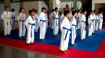 Associação Cinto Negro oferece aulas gratuitas de taekwondo em Rio Branco (Foto: Rita Lima/arquivo pessoal)
