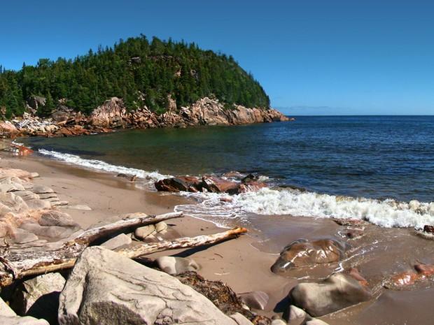 Cape Breton está localizada no extremo oriente do país, na província litorânea de Nova Escócia (Foto: GNU/Tango7174)