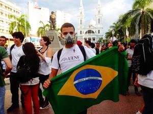 Gilberto Gomes, estudante de 18 anos. (Foto: Priscilla Alves/ G1)