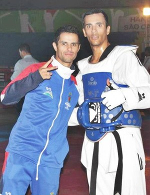 André Bilia taekwondo (Foto: Reprodução/Facebook)