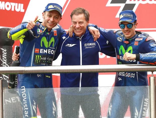 BLOG: MM Colaboradores - Manuel Pecino entrevista Lin Jarvis, Diretor Geral da Yamaha Racing...