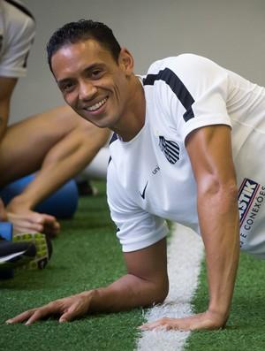 Ricardo Oliveira, Santos (Foto: Ricardo Saibun/Santos FC)