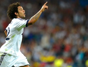 Marcelo, Real Madrid x Manchester City (Foto: Agência Reuters)