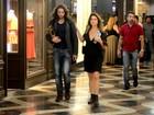 Letícia Spiller e novo affair trabalham juntos na peça 'Dorotéia'