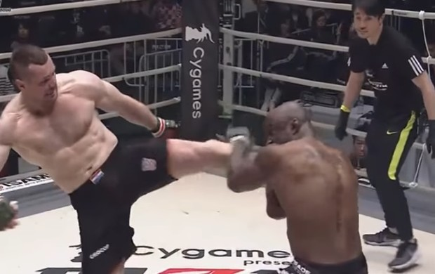 Cro Cop x King Mo, Rizin Grand Prix