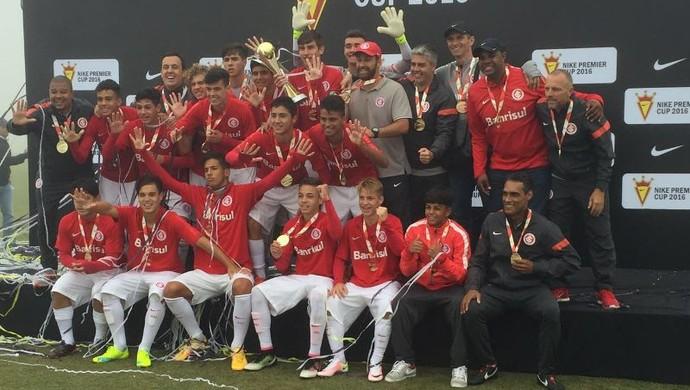 Inter sub-15 campeão Copa Nike  (Foto: Divulgação)
