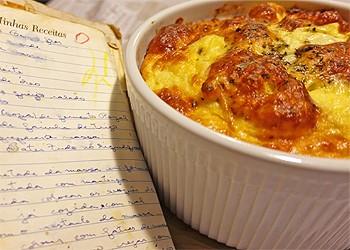 Soufflé de couve-flor  (Foto:  Arquivo pessoal)