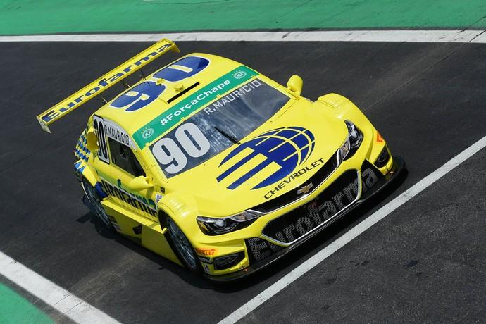 Ricardo Maurício foi o mais rápido no treino livre de sexta-feira na Stock Car (Foto: Fernanda Freixosa)