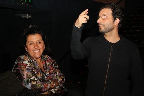 Regina Casé e Carlos Nader (Foto: Rodrigo Gorosito)