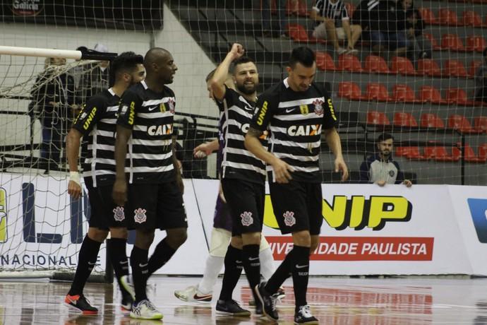 Corinthians x Tubarão, Liga Futsal (Foto: Yuri Gomes/Elite Comunicação)