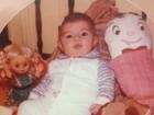 Quanta fofura! Mirella Santos posta foto de quando era bebê