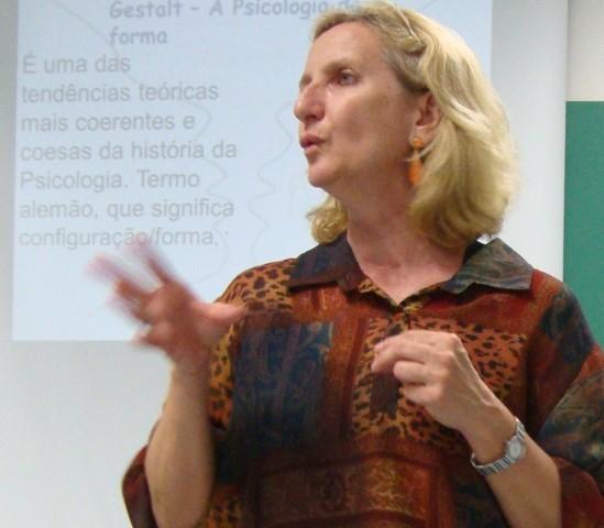 Professora Janete Tranquila Gracioli (Foto: Mariana Dias/G1)