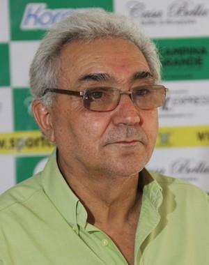 Jesimiel Ferreira, presidente do Sport Campina (Foto: Nelsina Vitorino / Jornal da Paraíba)