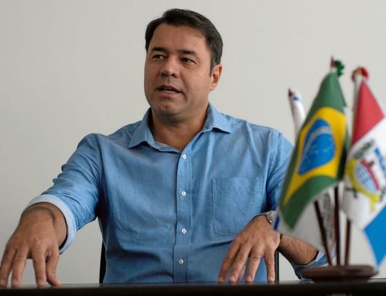 """Marco Firemam,secretário  do ministério da sáude  (Foto: Itawi Albuquerque                   """")"""