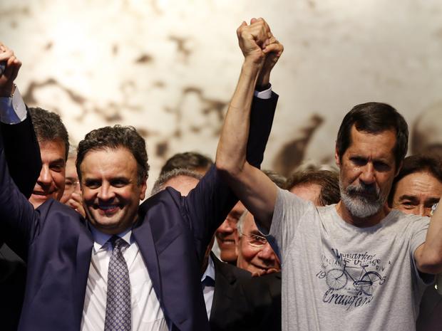 Aécio Neves, Eduardo Jorge, 2º turno (Foto: André Dusek/Estadão Conteúdo)