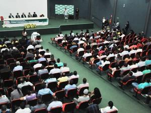 Prefeitos se reúniram e estabeleceram acordo para se adequarem à lei de acesso a informação (Foto: Divulgação/ATM)