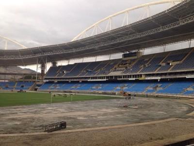 Engenhão obras Botafogo (Foto: Divulgação)