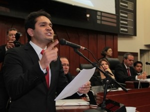 João Emanuel, vereador em Cuiabá (Foto: Otmar de Oliveira/ Câmara de Cuiabá)
