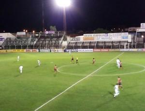 Oeste e Luverdense no Estádio Amaros (Foto: Assessoria/Luverdense Esporte Clube)