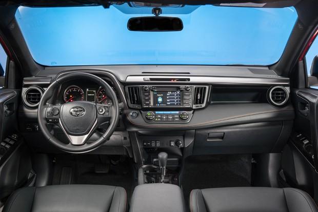Toyota RAV4 reestilizado (Foto: Divulgação)