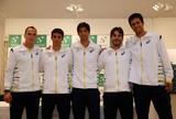 Com tenistas ol�mpicos, time brasileiro � convocado para a Copa Davis