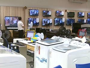 Setor de eletroeletrônicos deve ter maior queda nas vendas de Natal neste ano em São Carlos (Foto: Paulo Chiari / EPTV)