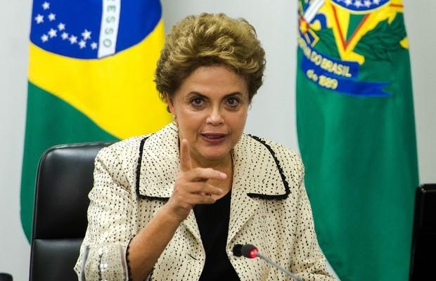 A presidente Dilma Rousseff se reúne com representantes do Conselho Nacional de Igrejas Cristãs do Brasil em Brasília 222222 (Foto: Marcelo Camargo/Agência Brasil)