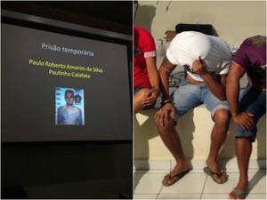 Paulinho Calafate foi preso acusado de envolvimento na explosão de caixas eletrônicos (Foto: Amanda Borges/G1)