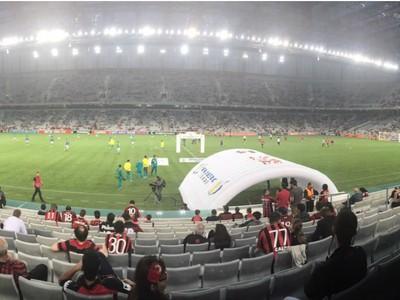 Arena da Baixada Atlético-PR Palmeiras (Foto: Sergio Tavares)
