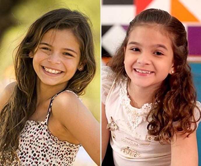 Luana era comparada à Mel na época em que esta interpretou Rita em Avenida Brasil (Foto: Pedro Curi/João Miguel Júnior/TV Globo)