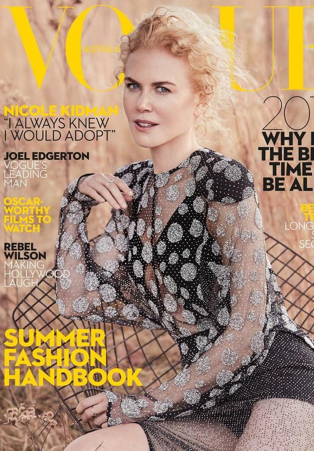 Nicole Kidman (Foto: Vogue Austrália)