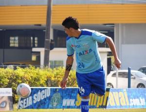 Luciano meia Avaí treino CFA (Foto: Marcelo Silva)