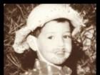 Alexandre Pato posta foto de quando era criança, vestido de caipira