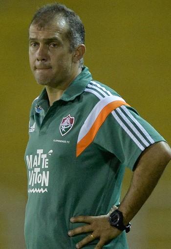 Eduardo Baptista, técnico Fluminense (Foto: Ag Estado)