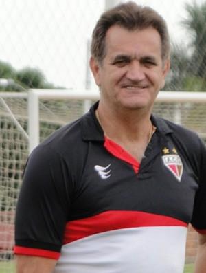 Chico Santos, auxiliar do Atlético-GO (Foto: Divulgação/Atlético-GO)