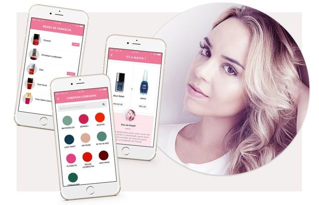 Novo App. de Beleza - Esmaltes (Foto: Reprodução)