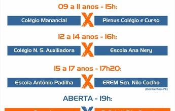 Definidos os confrontos de abertura da 21ª Copa TV Grande Rio de Futsal
