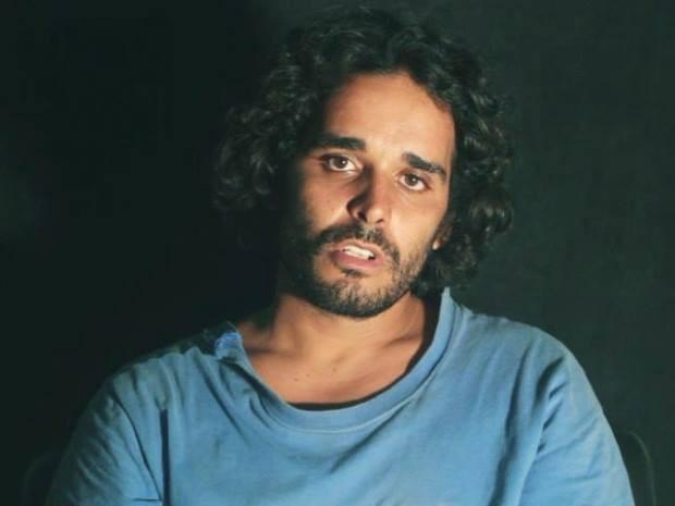 O rapper a ativista Luaty Beirão, preso em Angola e acusado de planejar destituição do presidente José Eduardo dos Santos (Foto: Reprodução/ Facebook/ Luaty Beirão)
