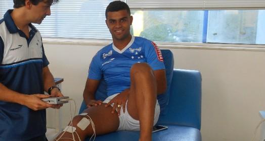 """""""logo  estarei de volta"""" (Cruzeiro/Divulgação)"""
