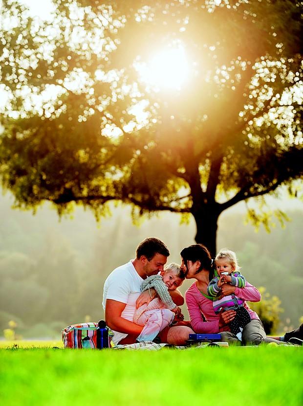 família; piquenique (Foto: Thinkstock)