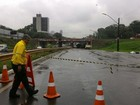 Trecho da Marginal Botafogo com Av. Independência segue interditado