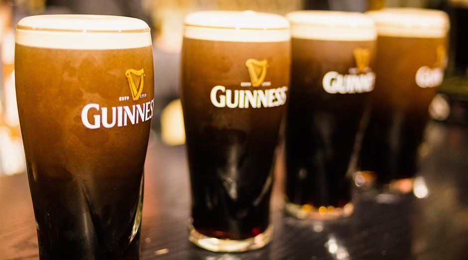 A Guinness é irlandesa, mas logística de fabricação e venda do produto é atrelada ao Reino Unido (Foto: Divulgação)