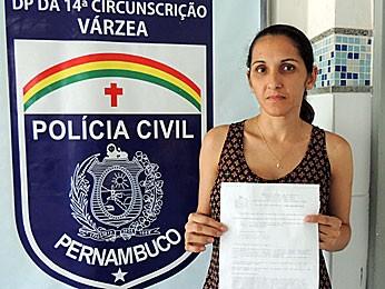 Pernambucana faz nova denúncia contra Danilo Gentilli (Foto: Débora Soares / G1)