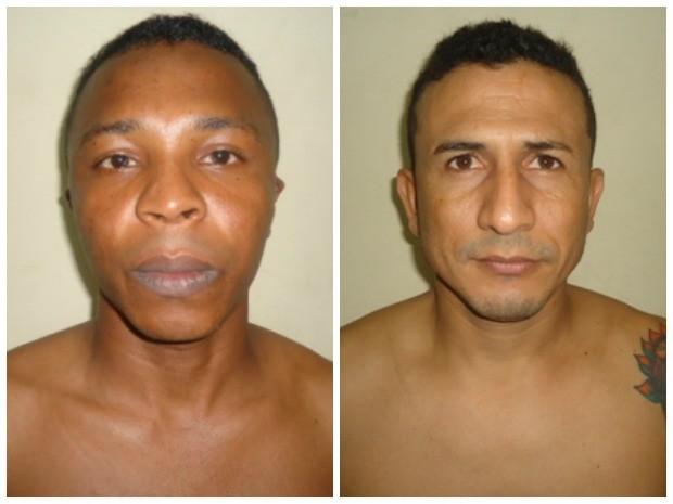 Antônio Rubens Dias Nunes, 30 e Wellington Batista Chaves, 29 estão foragidos (Foto: Divulgação/Seap)