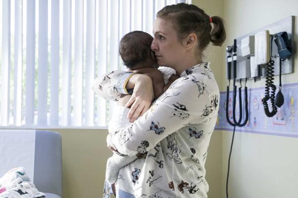 """Hannah (Lena Dunham) no último episódio de """"Girls"""" (Foto: Divulgação)"""