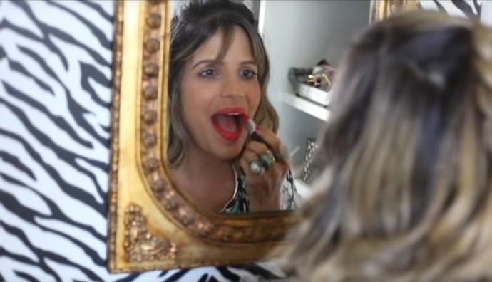 Paulinha o que fazer para o batom durar muito (Foto: TV Bahia)