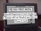 Morte de Teori Zavascki é manchete na imprensa internacional