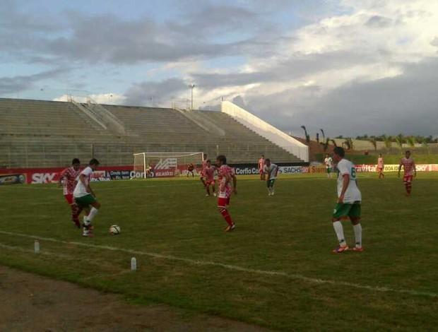 Alecrim vence América-RN no Barretão - sub-20 (Foto: Divulgação/América-RN)